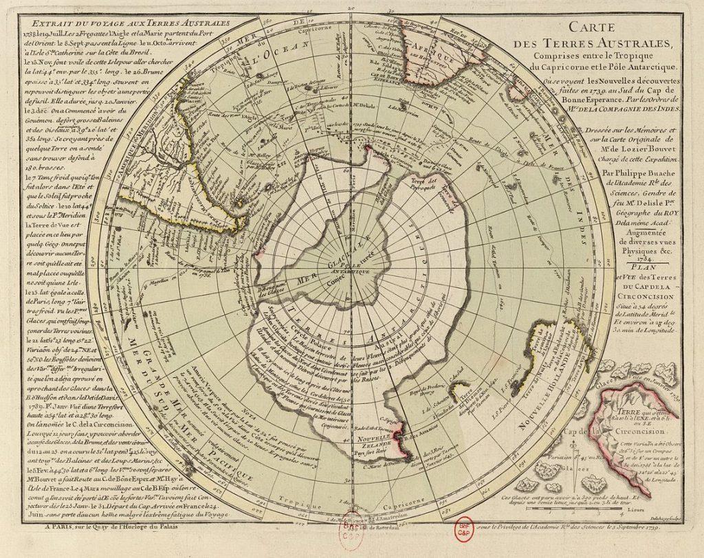 Fingerprints of the Gods FOG Exhibit 9, The Buache Map of 1739