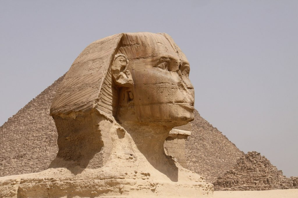 Deterioration of the Stone of the Great Sphinx