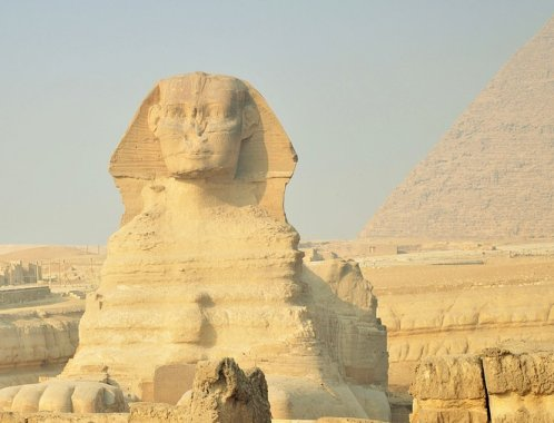 The Sphinx Blinks