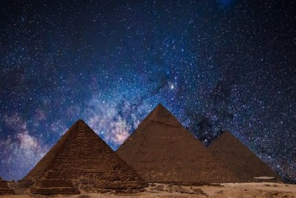 Orion and the Giza pyramids